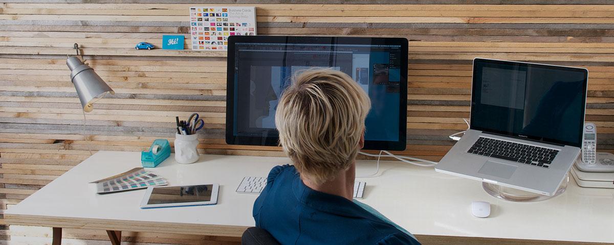 Ervaren grafisch vormgever en DTPer